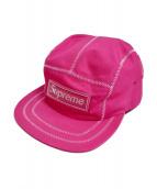 Supreme(シュプリーム)の古着「キャップ」 ピンク