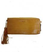 DAKOTA(ダコタ)の古着「L字ファスナー財布」 ブラウン