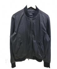 DIESEL(ディーゼル)の古着「袖切替ブルゾン」 ブラック