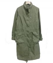 Spick and Span(スピック アンド スパン)の古着「M65 ミリタリーコート」|カーキ