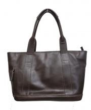 KITAMURA(キタムラ)の古着「レザートートバッグ」|ブラウン