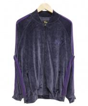 Needles(ニードルス)の古着「ベロアジャケット」|パープル