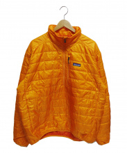 Patagonia(パタゴニア)の古着「ナノハフジャケット」 オレンジ
