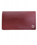 BVLGARI(ブルガリ)の古着「2つ折り財布」 レッド