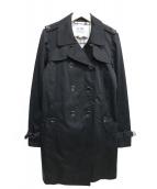 COACH(コーチ)の古着「トレンチコート」 ブラック