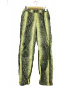 Supreme×THE NORTH FACE(シュプリーム ノースフェイス)の古着「Snakeskin Taped Seam Pant」|グリーン×イエロー