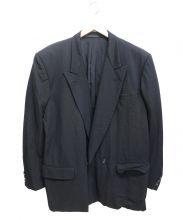 COMME des GARCONS HOMME(コムデギャルソンオム)の古着「ピークドラペルダブルジャケット」