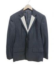 UNIFORM EXPERIMENT(ユニフォームエクスペリメント)の古着「テーラードジャケット」|チャコールグレー