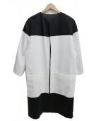 Jean-Paul Knott(ジャンポールノット)の古着「ノーカラーコート」