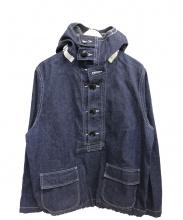 BEAMS×WORK HANDS(ビームス×ワークハンズ)の古着「デニムアノラックジャケット」