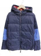 45rpm&(フォーティファイブアールピーエムアンド)の古着「ダウンジャケット」 ブルー×ネイビー