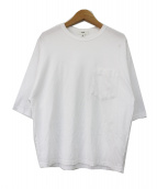 HYKE(ハイク)の古着「ポケットTシャツ」|ホワイト
