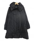 SHIZUKA KOMURO(シズカコムロ)の古着「ダウンコート」|ブラック