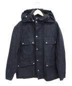 JUNYA WATANABE COMME des GARCONS MAN(ジュンヤワタナベ コムデギャルソン マン)の古着「フーデッドジャケット」|ブラック