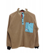 TOPO DESIGNS(トポデザイン)の古着「フリースプルオーバー」|ブラウン