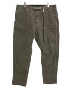THE NORTHFACE PURPLELABEL(ザ・ノースフェイス パープルレーベル)の古着「Corduroy Tapered Pants」|ブラウン