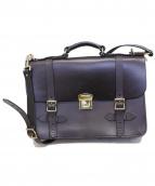 FILSON(フィルソン)の古着「Leather Field Satchel バッグ」|ダークブラウン