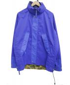 CDG JUNYA WATANABE MAN(コムデギャルソンジュンヤワタナベマン)の古着「19S/Sエステルタフタ3Lラミネート×ナイロンリップマウン」|ブルー