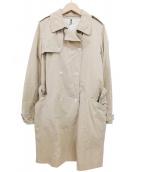 MHL.(エムエイチエル)の古着「トレンチコート」|ベージュ