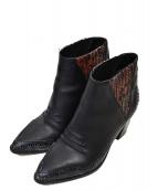 DIESEL(ディーゼル)の古着「ブーツ」|ブラック