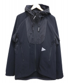 and wander(アンドワンダー)の古着「19S/S trek jacket 2」