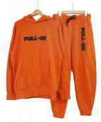 FULL-BK(フルビーケー)の古着「セットアップスウェット」|オレンジ