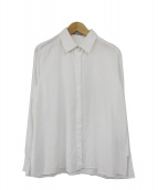 ACNE STUDIOS(アクネ ストゥディオズ)の古着「ワイドシャツ」 ホワイト