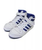adidas originals(アディダスオリジナル)の古着「FORUM MID Wrap」|ホワイト×ブルー