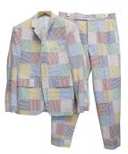 THOM BROWNE(トム ブラウン)の古着「パッチワークセットアップ」 マルチカラー