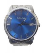 Calvin Klein(カルバンクライン)の古着「リストウォッチ」|ブルー