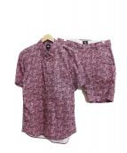 STUSSY(ステューシー)の古着「セットアップ」|ピンク×ブラック