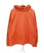 STUSSY(ステューシー)の古着「プルオーバーコットンパーカー」 オレンジ
