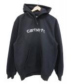 carhartt(カーハート)の古着「プルオーバーパーカー」 ブラック