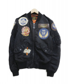 AVIREX(アヴィレックス)の古着「トップガンフライトジャケット」