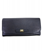 MIU MIU(ミュウ ミュウ)の古着「長財布」|ブラック