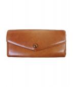 MARGARET HOWELL idea(マーガレットハウエルアイデア)の古着「長財布」|ブラウン