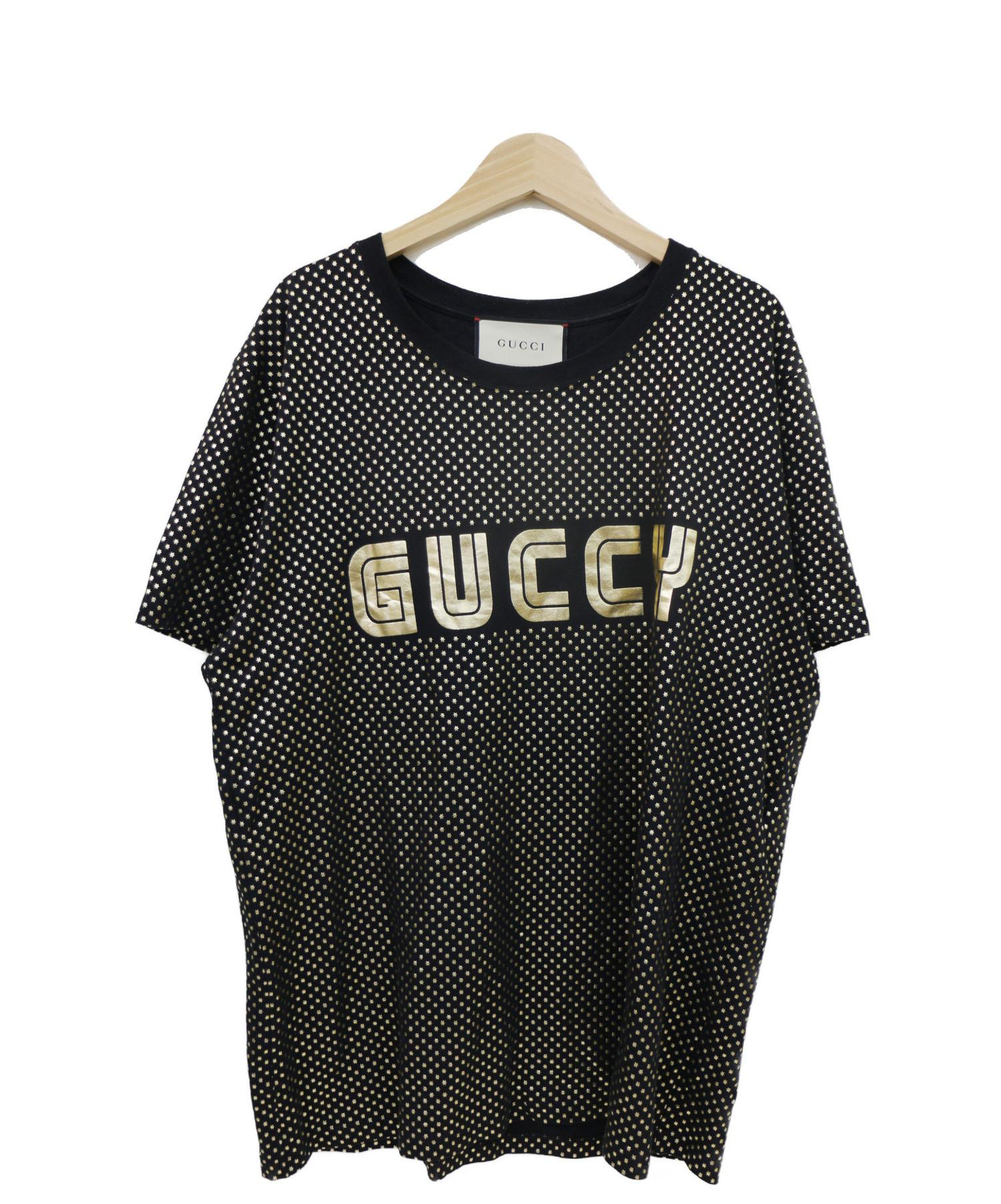 new concept 50e1c aff16 [中古]GUCCI(グッチ)のメンズ トップス GUCCYプリントTシャツ