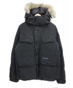 CANADA GOOSE(カナダグース)の古着「RUSSEL PARKA」|ブラック