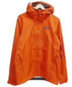 Patagonia(パタゴニア)の古着「トレントシェルジャケット」|オレンジ