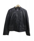 agnes b(アニエスベー)の古着「レザージャケット」