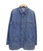 BLUE BLUE(ブルーブルー)の古着「カバーオール」|インディゴ