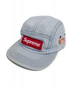 Supreme(シュプリーム)の古着「デニムキャンプキャップ」|インディゴ
