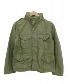 DEUXIEME CLASSE(ドゥーズィエムクラス)の古着「ミリタリージャケット」|セージグリーン