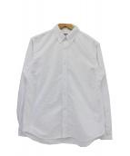 THE NORTHFACE PURPLELABEL(ザ・ノースフェイス パープルレーベル)の古着「Cotton Polyester OX B.D Shirt」|ホワイト