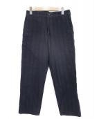 tricot COMME des GARCONS(トリコ コム デ ギャルソン)の古着「オールドヘリンボーンパンツ」|ブラック