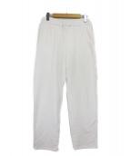 Ron Herman(ロンハーマン)の古着「タックスウェットパンツ」|ホワイト