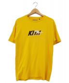 KITH(キース)の古着「ロゴ刺繍Tシャツ」|イエロー