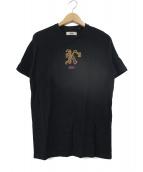 KITH(キース)の古着「ロゴ刺繍Tシャツ」|ブラック