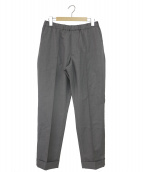 AURALEE(オーラリー)の古着「WOOL SILK TROPICAL EASY SLACKS」|グレー