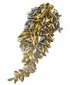LOEWE(ロエベ)の古着「メタルピアス」|ゴールド×シルバー